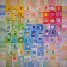 color blocks quilt by Karen Limke