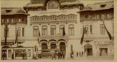 Imagine inedita cu o cladire astazi disparuta- Palatul Societatii Functionarilor Publici, construita in 1900 dupa planurile arhitectului N. Mihaescu pe coltul dintre Calea Victoriei si str. Buzesti. Cladirea a fost distrusa de bombardamentele din 1944 si nu a mai fost reconstruita dupa aceea. sursa ''Realitatea ilustrata'' Bucharest Romania, Interesting Reads, Old City, Timeline Photos, Old Pictures, Notre Dame, Dan, Tourism, Buildings