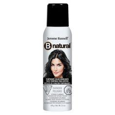Bnatural Temporary Hair Color Spray Black - 3.5oz