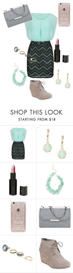 """""""Something Classy"""" by irelandgcoughlin ❤ liked on Polyvore featuring maurices, Kensie, Vincent Longo, Kenneth Jay Lane, Rifle Paper Co, Nine West and TOMS"""