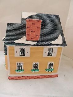 Dept 56 Snow Village - Woodbury House - Very Good Condition! #54445
