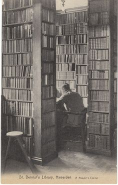 "St. Deiniol's Library, Hawarden (Wales, UK): ""A Reader's Corner"" (via)"