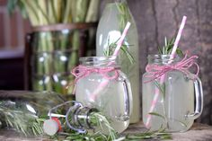 Puff 'n Stuff's Rosemary-Infused Lemonade Punch: The Orlando catering firm Puff 'n Stuff creates a nonalcoholic fusion of lemonade and fresh herbs that suits warm-weather gatherings.
