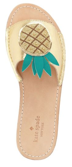 5bb665f278 Pineapple Sandals by kate spade new york  pineapple Pineapple Clothes