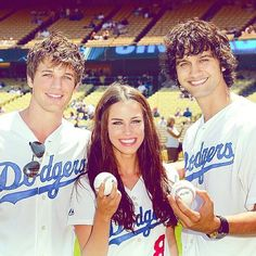 Matt Lanter, Jessica Lowndes, and Michael Steger