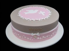 first communion cake ideas | ... First Holy Communion Cake - £65. Designed and…