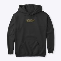 Hoodie Sweatshirts, Hoodies, Make A Wish, Black Hoodie, Active Wear, Tees, Sweaters, How To Wear, T Shirt