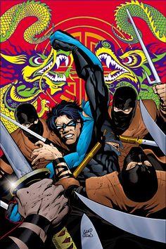 #Nightwing #Fan #Art. (NIGHTWING #56) By: Greg Land. (THE * 5 * STÅR * ÅWARD…