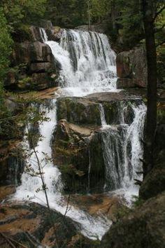 Katahdin Falls, Baxter State Park, Maine by Eva0707