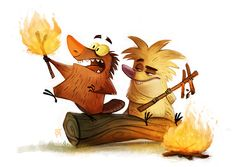 cryptid-creations:  Day 589. Angry Beavers by Cryptid-Creations