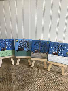 Four seasons Lillian Vernon, Paper Quilling, Four Seasons, Tiles, Chair, Furniture, Home Decor, Room Tiles, Decoration Home