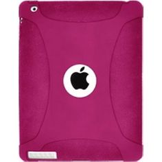 AMZER SILICONE SKIN JELLY CASEHOT PINK FOR IPAD3 Amzer AMZ93518 NEW!
