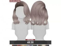 ADE ZOE TODDLER VERSION - The Sims 4 Download - SimsDom