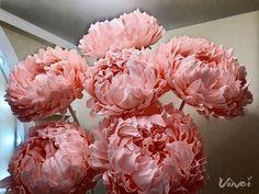 Большие цветы| Мастер Букета |Декор |Обучение Diy Paper, Paper Art, Paper Crafts, Crepe Paper Flowers, Paper Roses, Giant Paper Flowers, Diy Flowers, Decoupage Vintage, Flower Stands