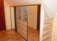 Realizace Hradčany.  Materiál Jasan Lockers, Locker Storage, Cabinet, Closet, Furniture, Home Decor, Clothes Stand, Armoire, Decoration Home
