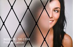 "Picture of SOLYX: SX-1550 Frosted Lattice. 48"" wide"
