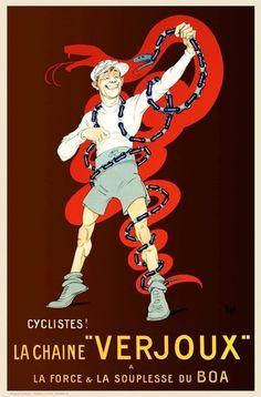 La Chaine Verjoux ~ Mich (Michel Liebeaux)   #Bicycles #Verjoux #Chains #Mich