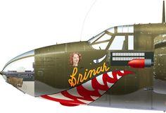 B-26B-50-MA 42-96013 No.99 'Brinah' flown by Lt. Russel Jones of the 444th BS, 320th BG