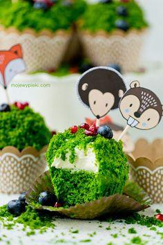 Babeczki Leśny Mech | Moje Wypieki Flowers Nature, 4th Birthday, Avocado Toast, Cupcake, Food And Drink, Cakes, Cooking, Breakfast, Sweet