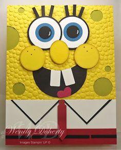 SpongeBob punch art card!!!!