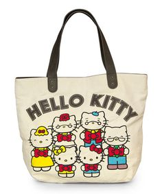 Look what I found on  zulily! Hello Kitty 40th Anniversary Tote   zulilyfinds Hello 2f6f489145