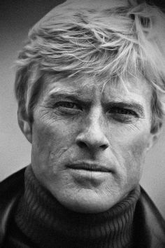 Robert Redford, 1970's// almost perfect & very rare facial symmetry between right & left side of face, even his ears