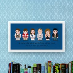 Ferris Bueller's Day Off Cross Stitch Pattern  Movie Cast