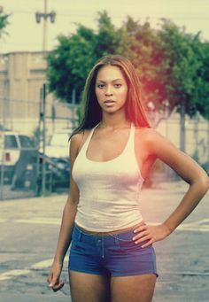 I love Beyonce; not just for her voice, but her ability to redefine the meaning of 'curvy' in an otherwise mistaken world. She encourages me to embrace my curves, and to tone my body, not lose my figure.
