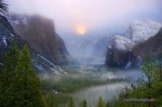 Yosemite National Park, California by Darvin Atkeson