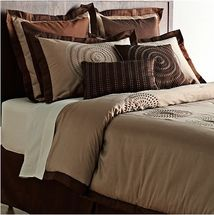 Circle Embroidery 8pc Comforter Sets & Accessories