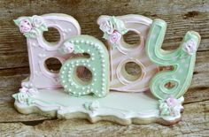 Cookie Platter Centerpiece by Sweet Kissed Confections