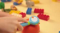 Mozbii, un stylus para niños capaz de capturar colores y utilizarlos para dibujar en una tablet
