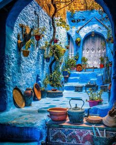 10 Best hikes to do in Morocco - tour in morocco Marrakech Travel, Morocco Travel, Beautiful Streets, Beautiful Places, Blue City Morocco, Morocco Chefchaouen, Moroccan Blue, Moroccan Colors, Visit Morocco