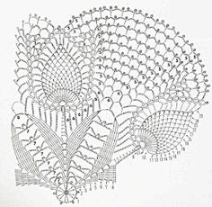 Only Crochet Patterns Archives - Beautiful Crochet Patterns and Knitting Patterns Filet Crochet, Débardeurs Au Crochet, Beau Crochet, Crochet Doily Diagram, Crochet Doily Patterns, Crochet Chart, Crochet Home, Thread Crochet, Irish Crochet