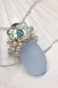 I love seaglass jewelry