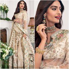 "Dress - @shehlaakhan Sandals - @jimmychoo Jewelry - @anitadongre Styled by -…"""