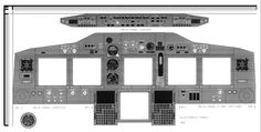 Boeing 737-800 Cockpit Panels by Cam Peckinpaugh page 1