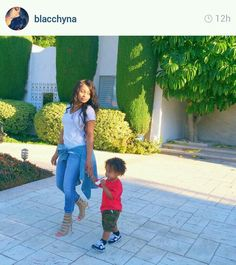 Blac Chyna and her son are so cute!