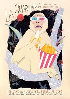 http://www.laguarimba.com/es/ #movies #cinema #art #cartel