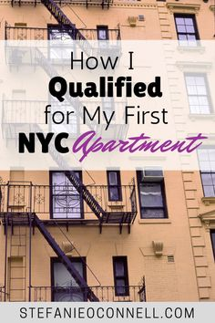 How I Qualified For My First New York City Apartment     ........................................................ Please save this pin... ........................................................... Because for real estate investing... Click on this link now!  http://www.OwnItLand.com