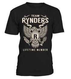 Team RYNDERS Lifetime Member