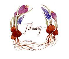Artwork: February, by Kelsey Garrity Riley.