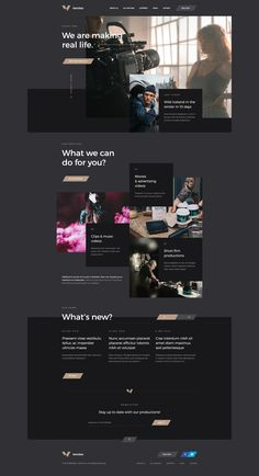 Dribbble - by Mateusz Madura Corporate Website Design, Website Design Layout, Web Layout, Corporate Design, Layout Design, Graphisches Design, Web Ui Design, Page Design, Web Box