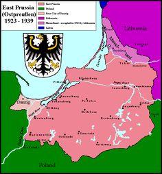 East Prussia 1923-1939 - East Prussia - Wikipedia, the free encyclopedia