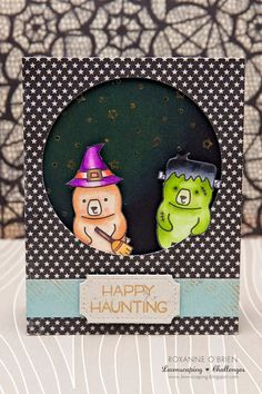 Lawnscaping Challenge: Happy Haunting Card