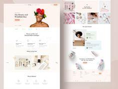Beauty Box Subscription Class Design, Web Design, Directory Design, Beauty Box Subscriptions, Job Opening, Subscription Boxes, Website, Service Design, Branding Design