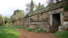 etruschi  Necropoli Cerveteri     #TuscanyAgriturismoGiratola