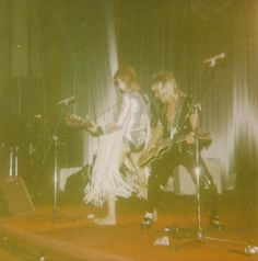 Bowie at The Empire Theatre, Edinburgh, May 19, 1973.