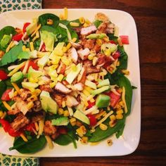 I Don't Go to the Gym: Mexican Chopped Salad