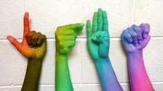LGBT ASL #lgbt #asl #gay